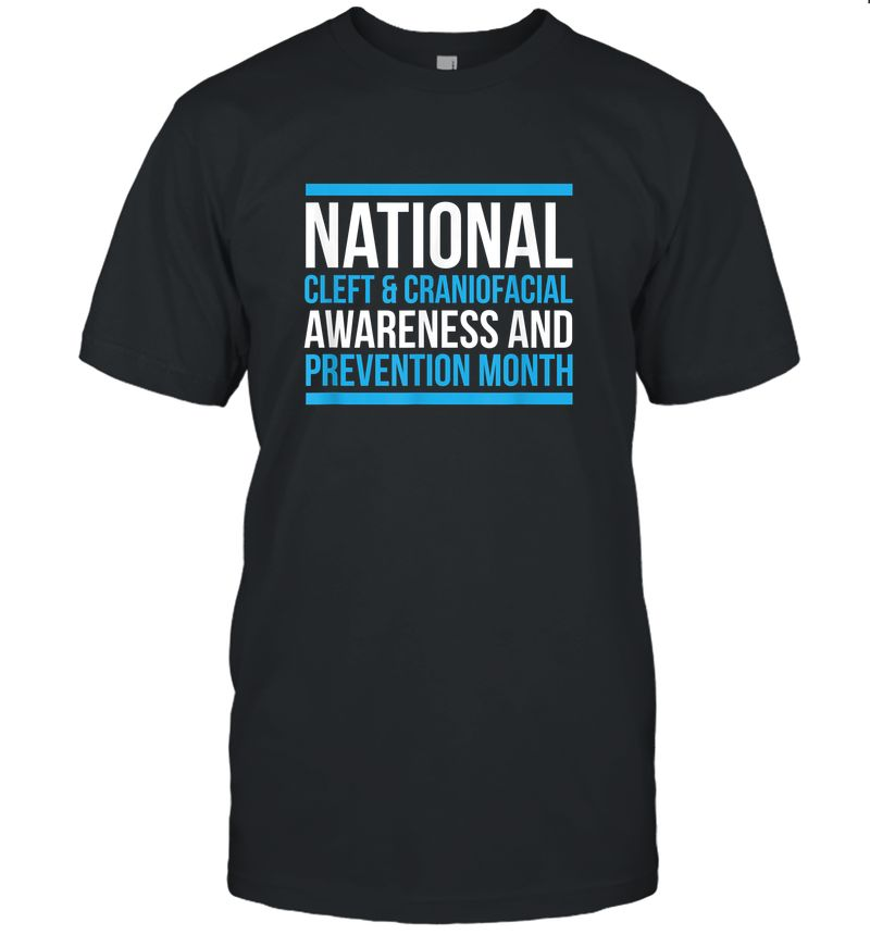 National Cleft & Craniofacial Awareness And Prevention Month T-Shirt