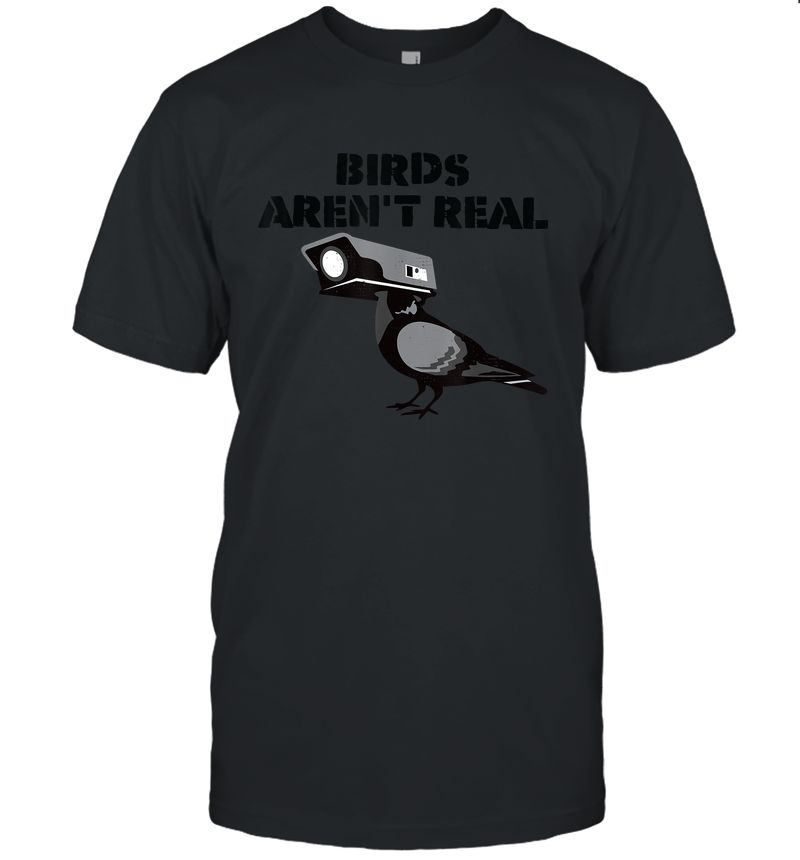 Vintage Birds Aren'T Real T-Shirt