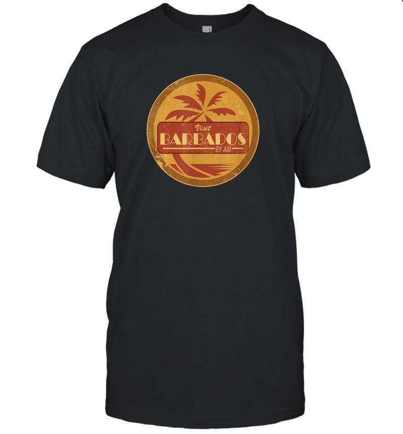 Vintage Travel T-Shirt - Barbados (Distressed)