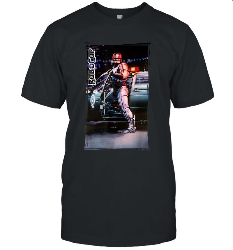 Robocop Cruiser Photograph Logo Poster T-Shirt