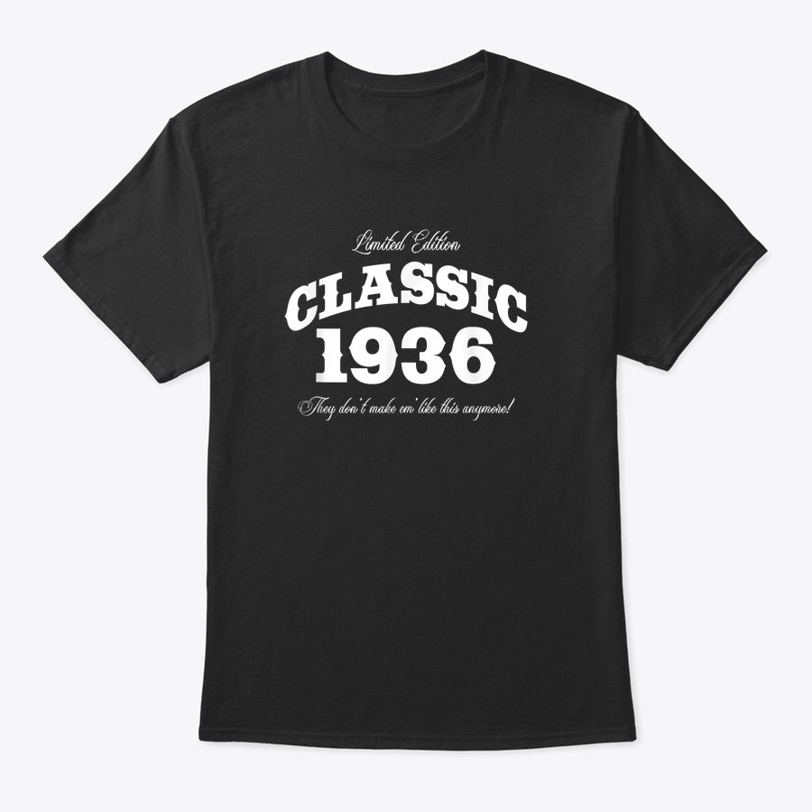 Gift For 84 Year Old: Vintage Classic Car 1936 84Th Birthday T-Shirt