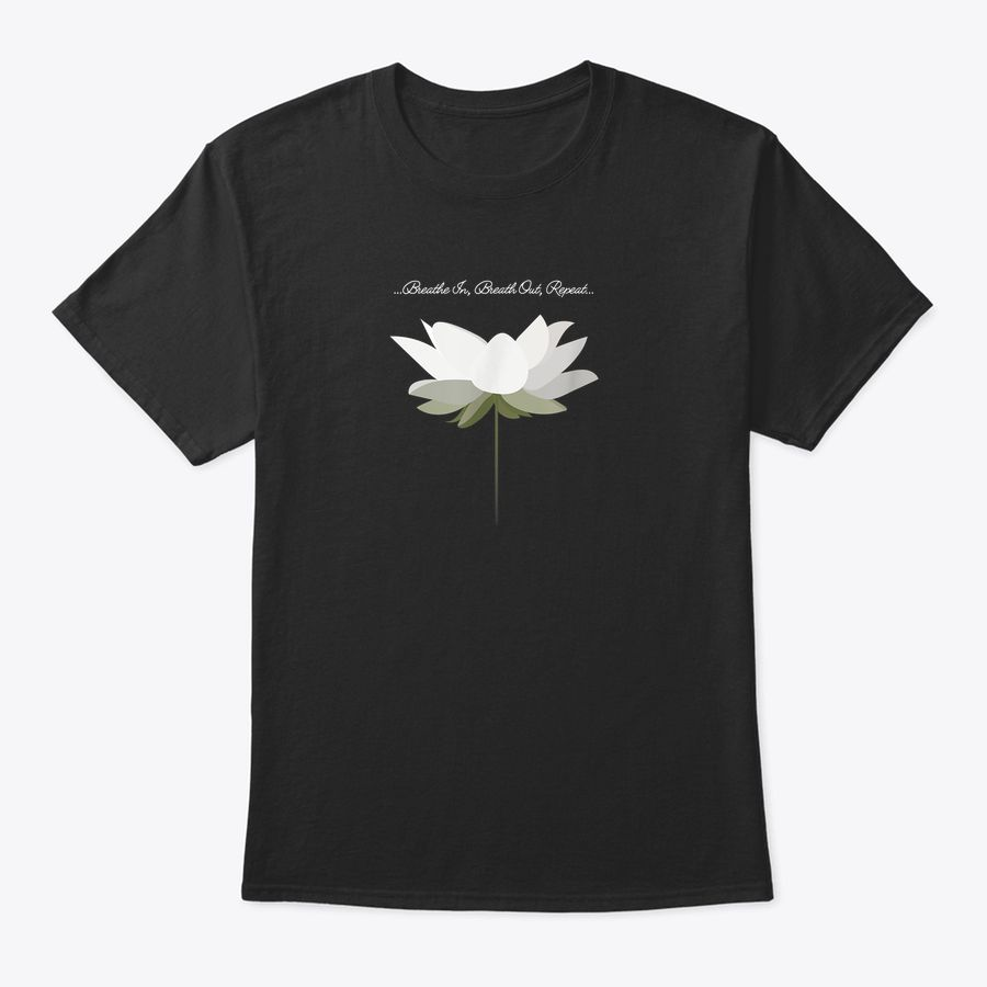 Womens Lotus Flower Top For Yoga And Mindfulness, Namaste T-Shirt