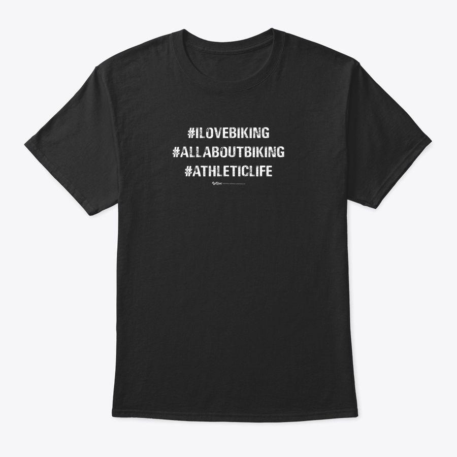 Vintage Hashtag I Love Biking All About Biking T-Shirt