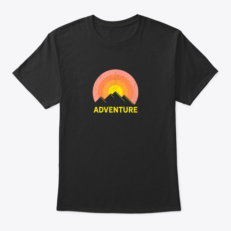 Awesome Travel Mountain Adventure Road Trip T-Shirt