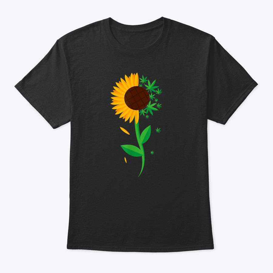Weed Sunflower Marijuana 420 Women T-Shirt