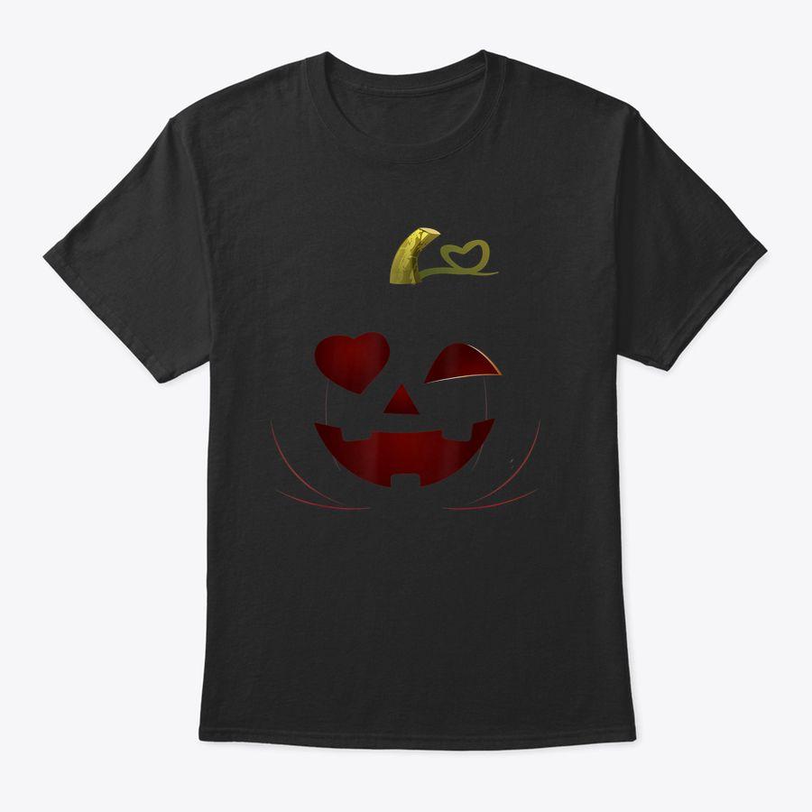 Halloween Pumpkin Face Costume Love Winking Face 2020 T-Shirt