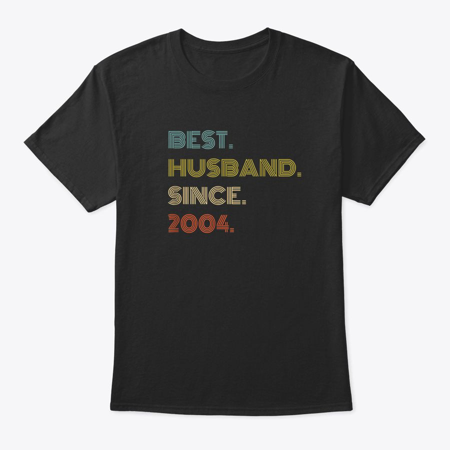 16Th Wedding Anniversary Gift Best Husband Since 2004 T