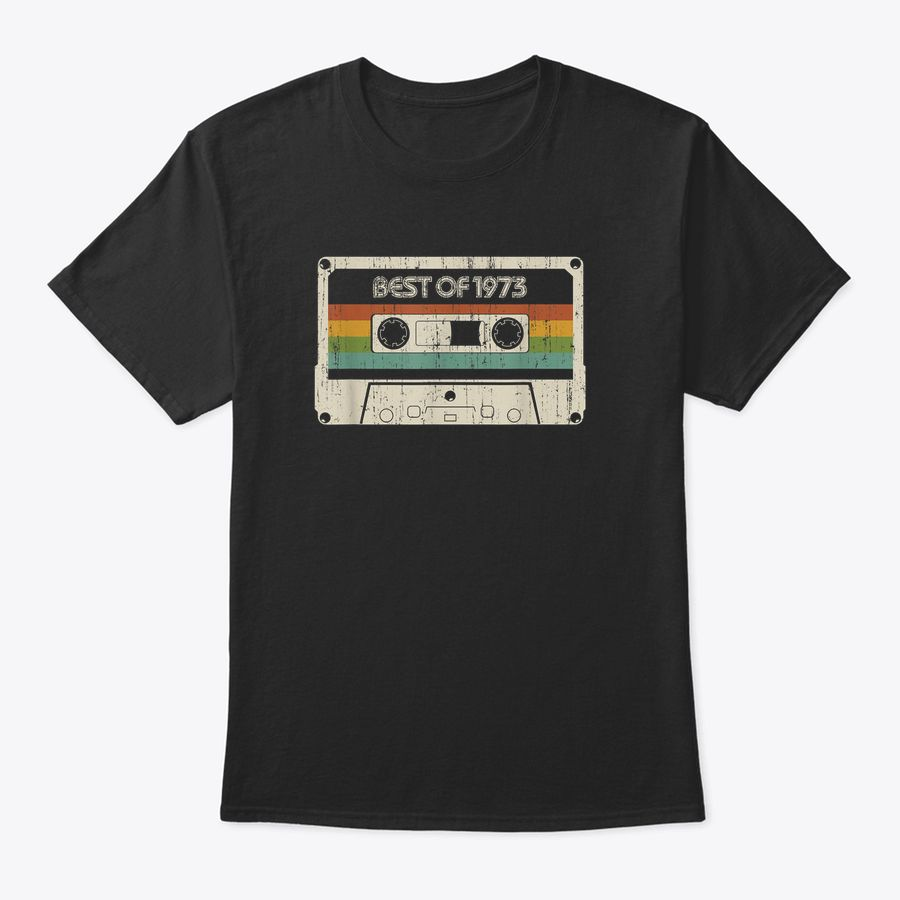 Best Of 1973, Vintage Best Of 1973 47Th Birthday Cassette T-Shirt