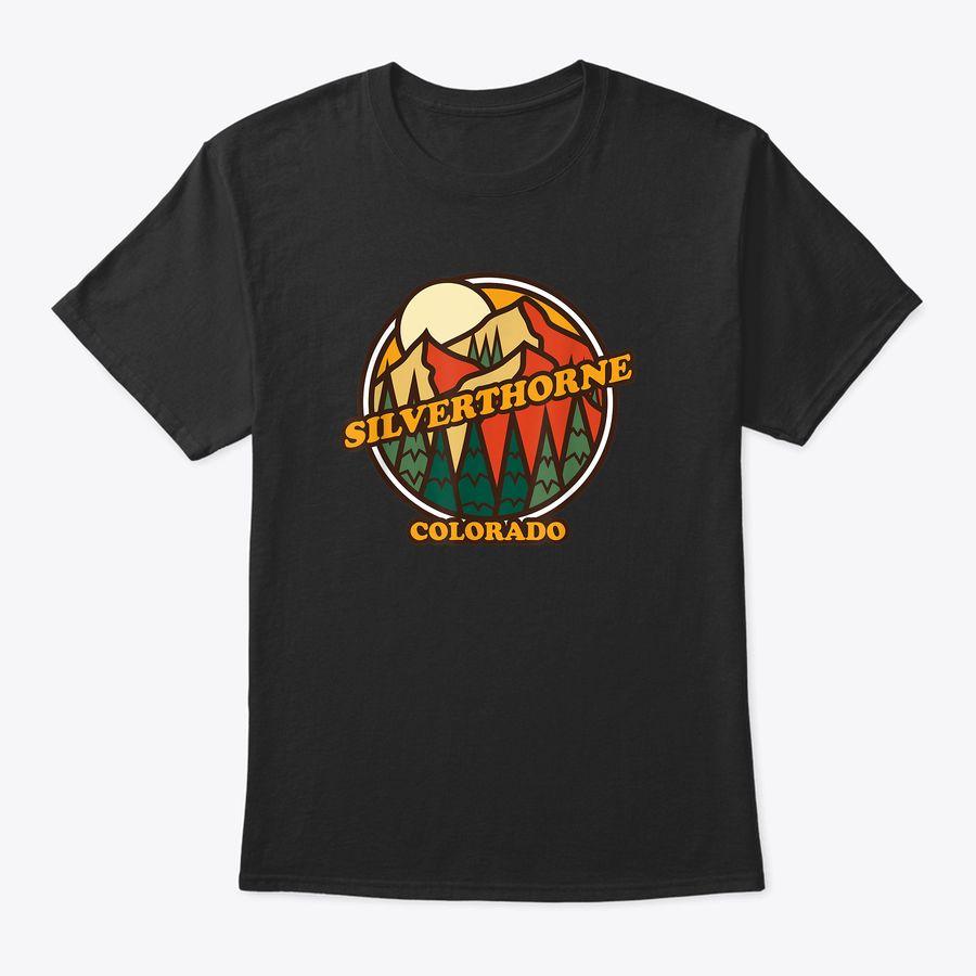 Vintage Silverthorne, Colorado Mountain Hiking Souvenir T-Shirt