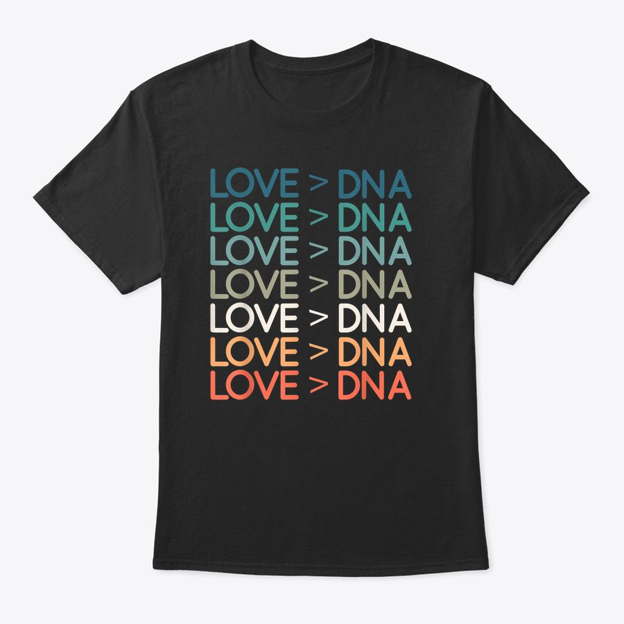 Love Greater> Dna Vintage Distressed T Adoption Foster T-Shirt
