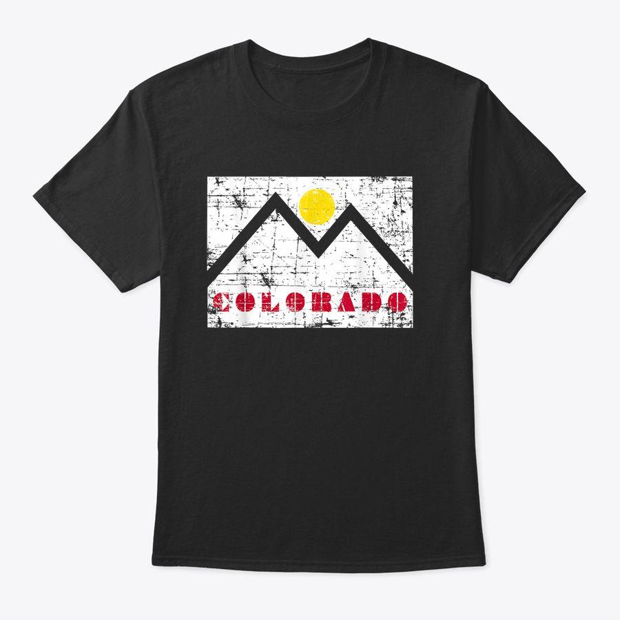 Colorado Mountains Us State Souvenir Travel Family Gift T-Shirt