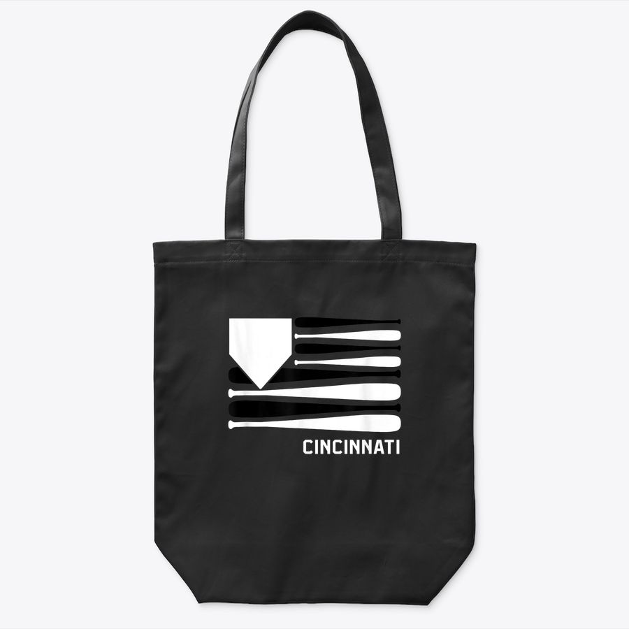 Cincinnati Baseball Is American Tote Bag