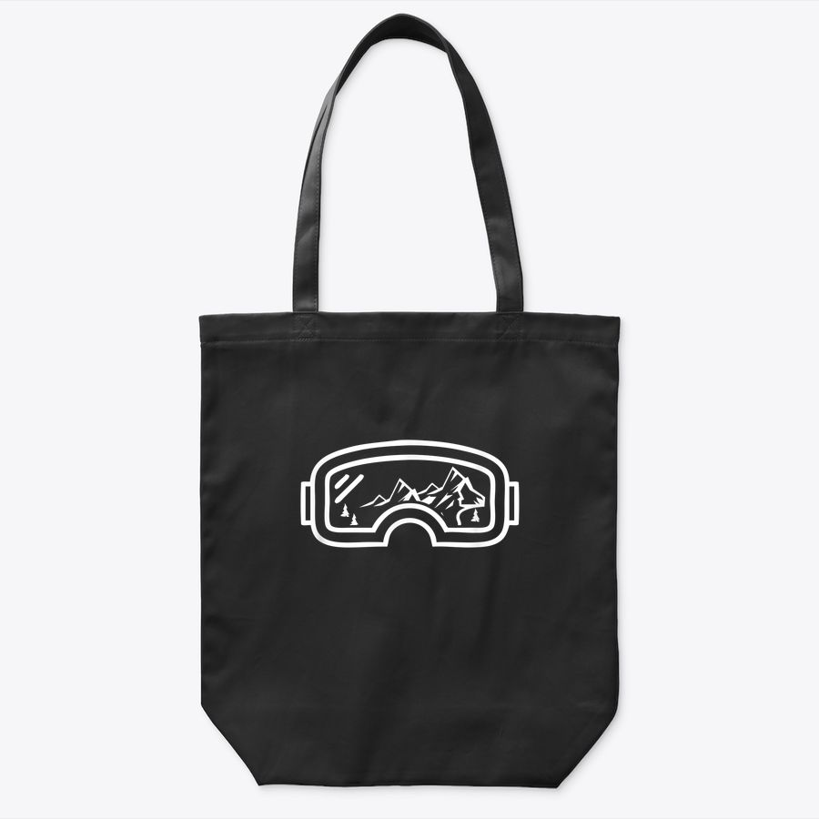 Snowboarder, Ski, Snow And Mountain Lover Tote Bag