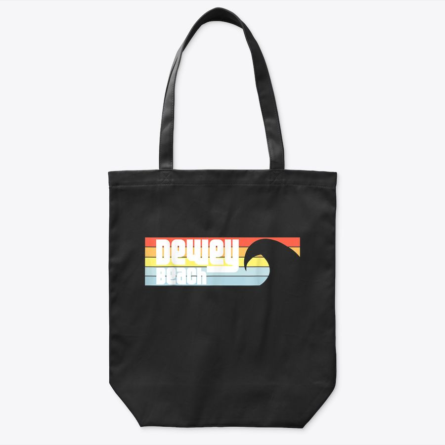 I Love Dewey Beach Delaware De Atlantic Wave Tote Bag