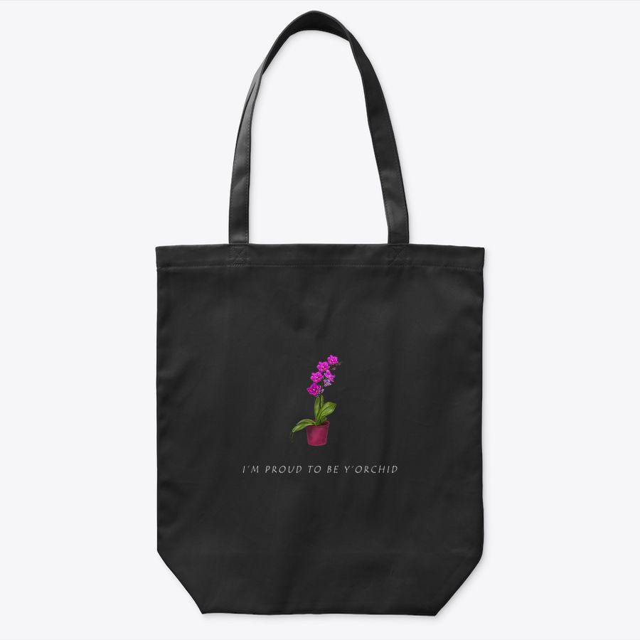 Orchid Pun Children Flower I Cute Gift For Mom And Dad Tote Bag