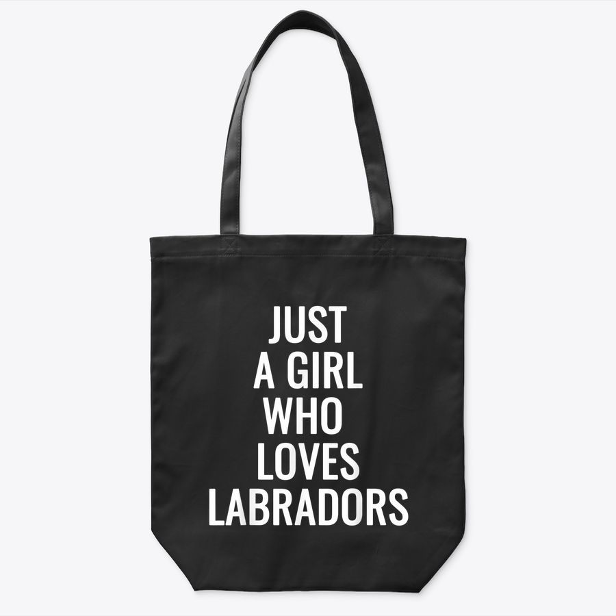 Just A Girl Who Loves Labrador Dog Mom Mama Gifts Tote Bag