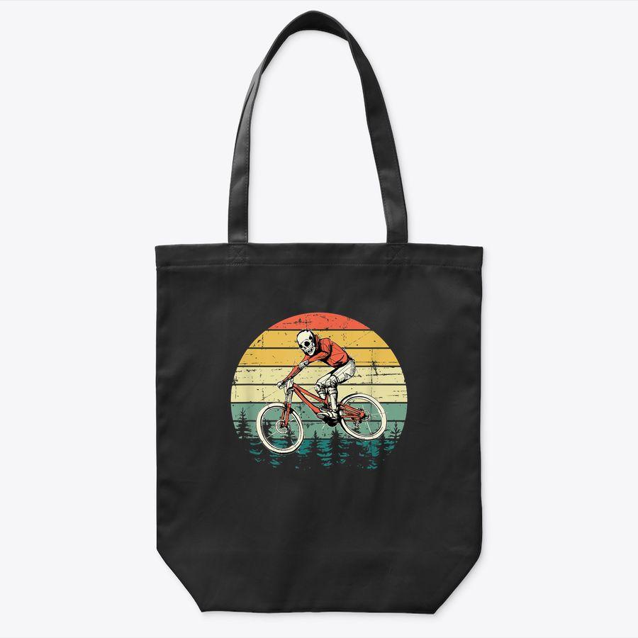 Vintage Mtb Mountain Biking Tote Bag