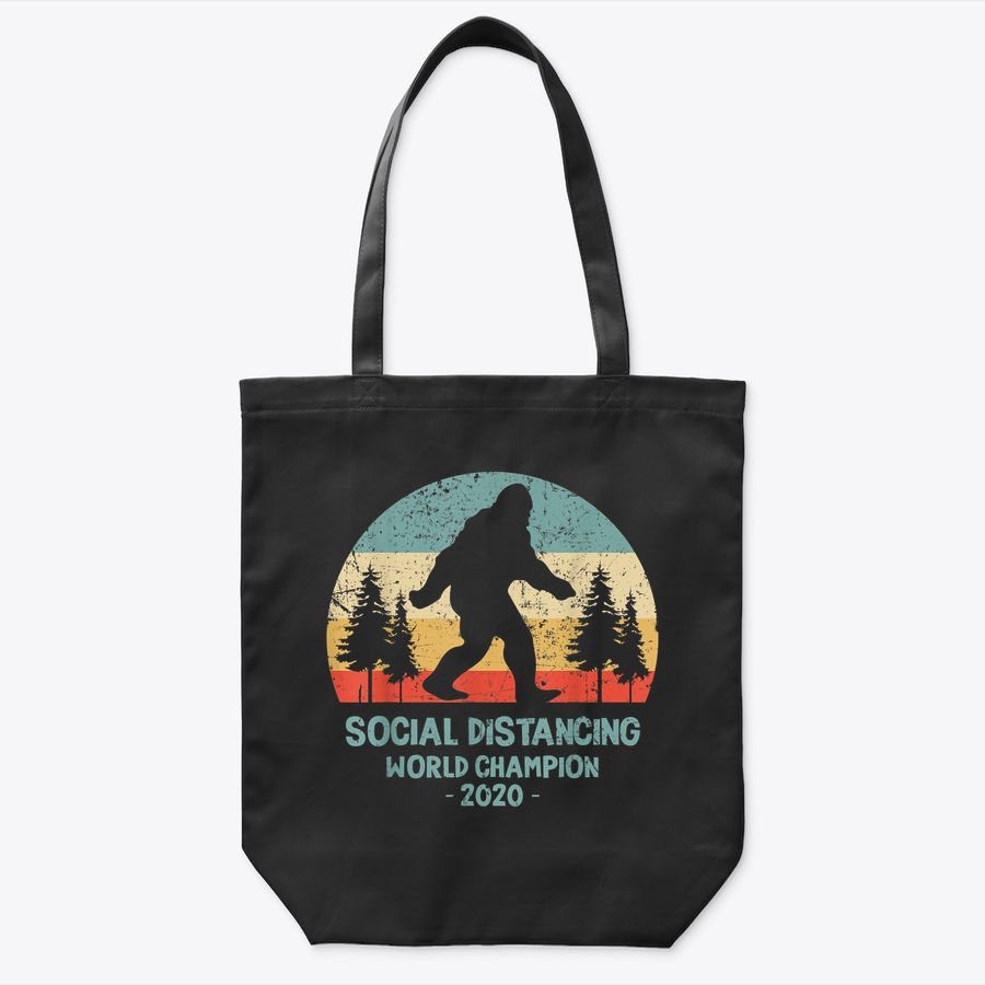 Social Distancing World Champion Outdoor Mountains Gift Tote Bag