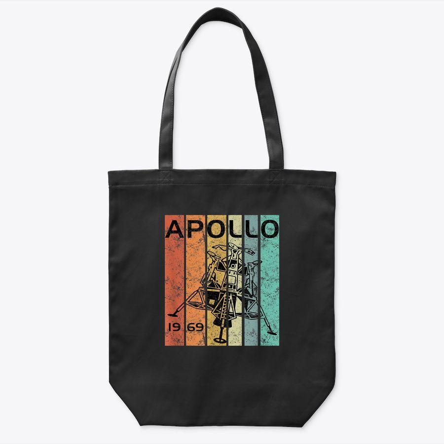 Retro Apollo 11 50Th Anniversary Moon Landing 1969 2019 Gift Tote Bag