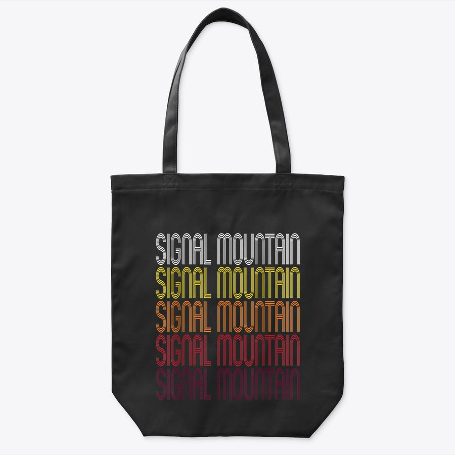 Signal Mountain, Tn | Vintage Style Tennessee Tote Bag