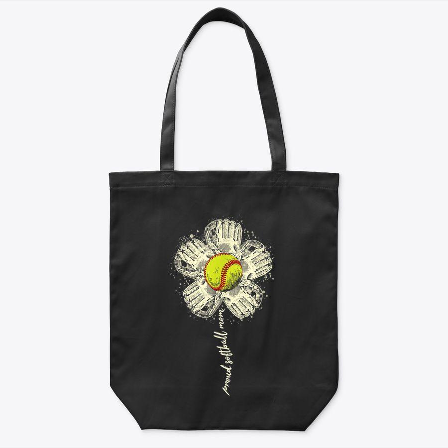 Proud Baseball Mom Flower  - Mother'S Day Gift For Mom Tote Bag