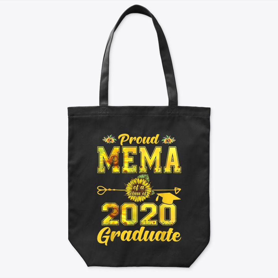Proud Mema Of A Class Of 2020 Graduate Sunflower Senior 20 Tote Bag