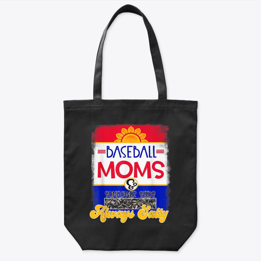 Baseball Mamas & Sunflower Seeds Always Salty Tote Bag