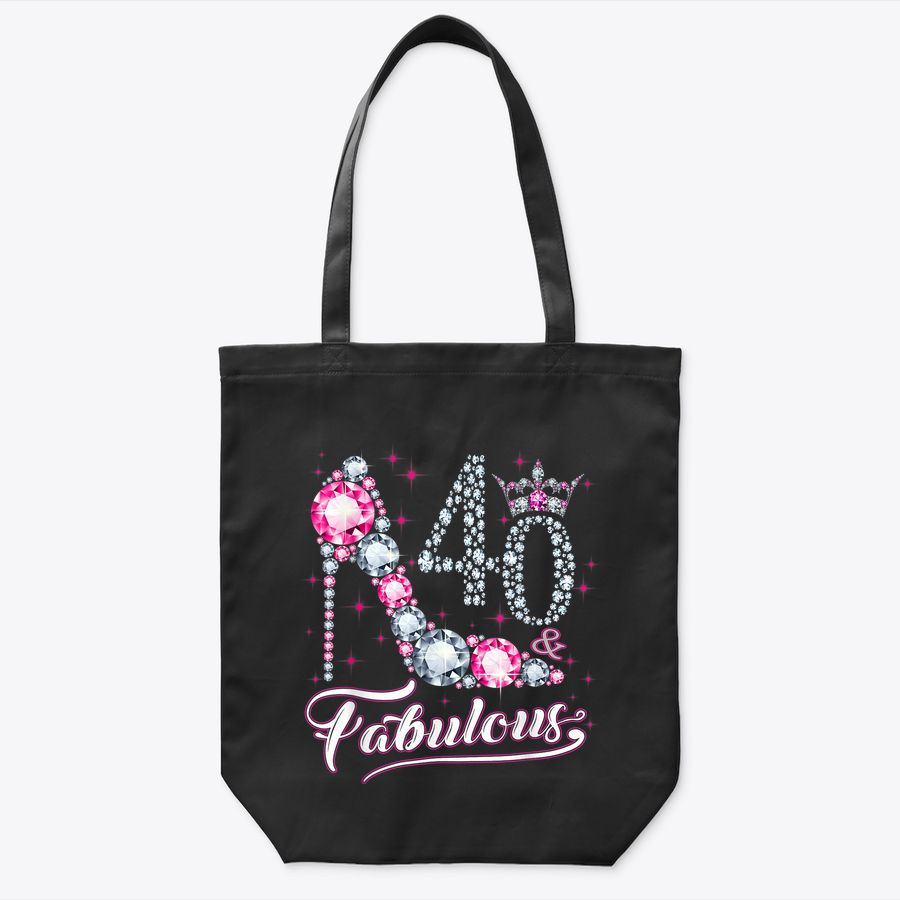 40 And & Fabulous 1980 40Th Birthday Gift  For Womens Tote Bag