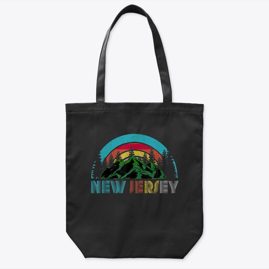 New Jersey Mountains  Outdoor Camping Hiking s Gift Tote Bag